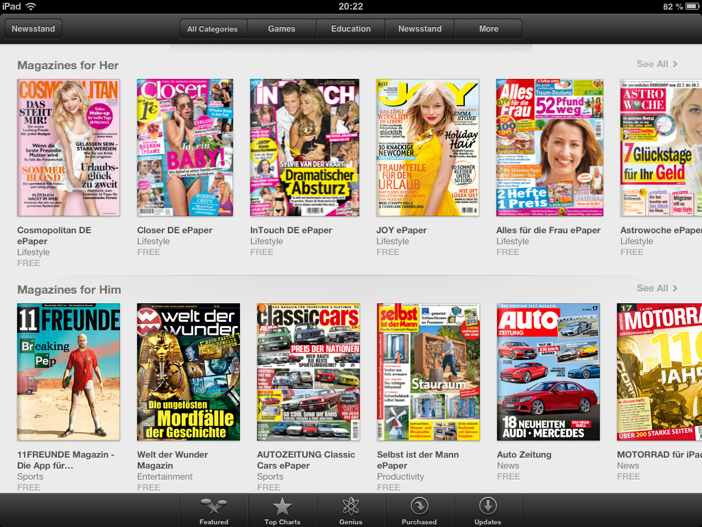What can digital media learn from magazines? - Thoughts on Media