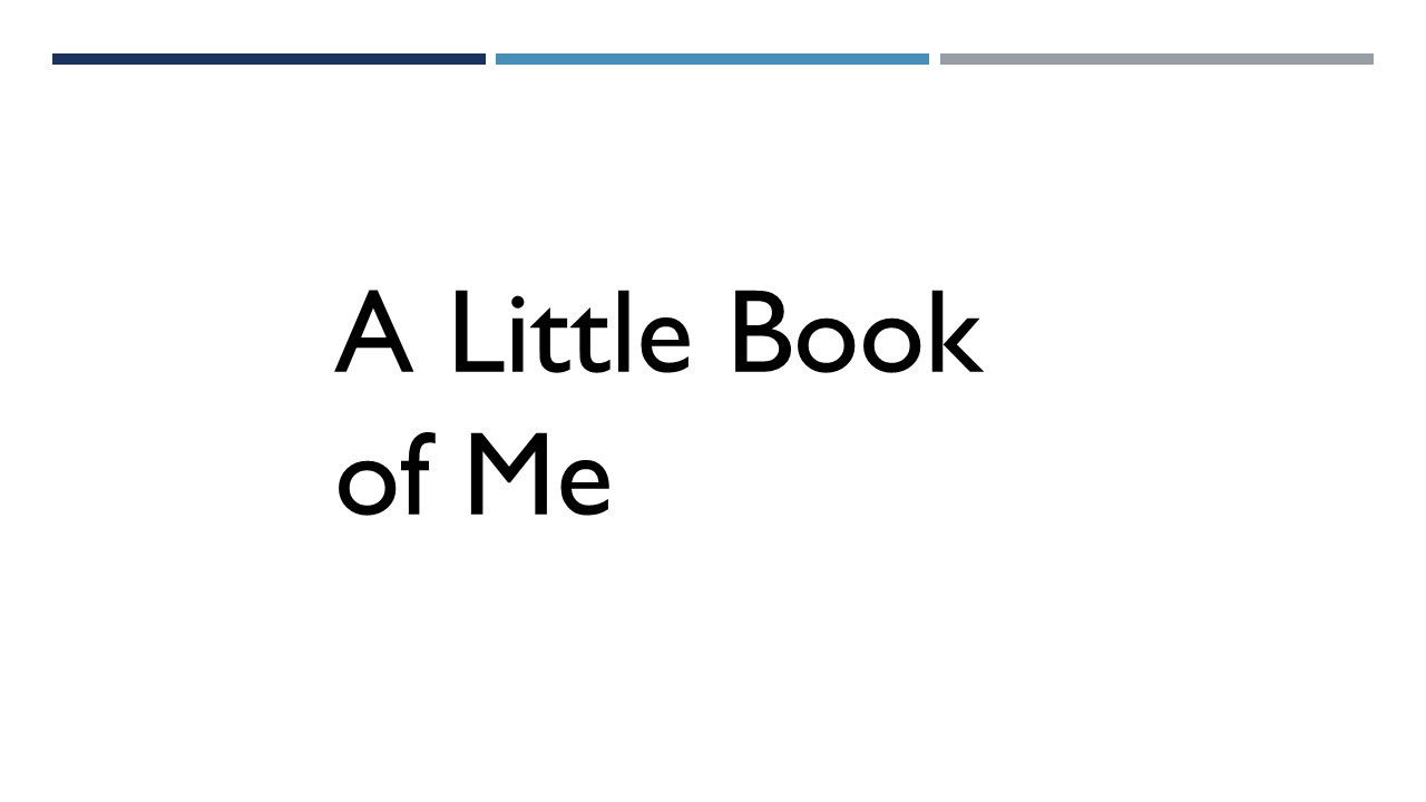 A little book of me