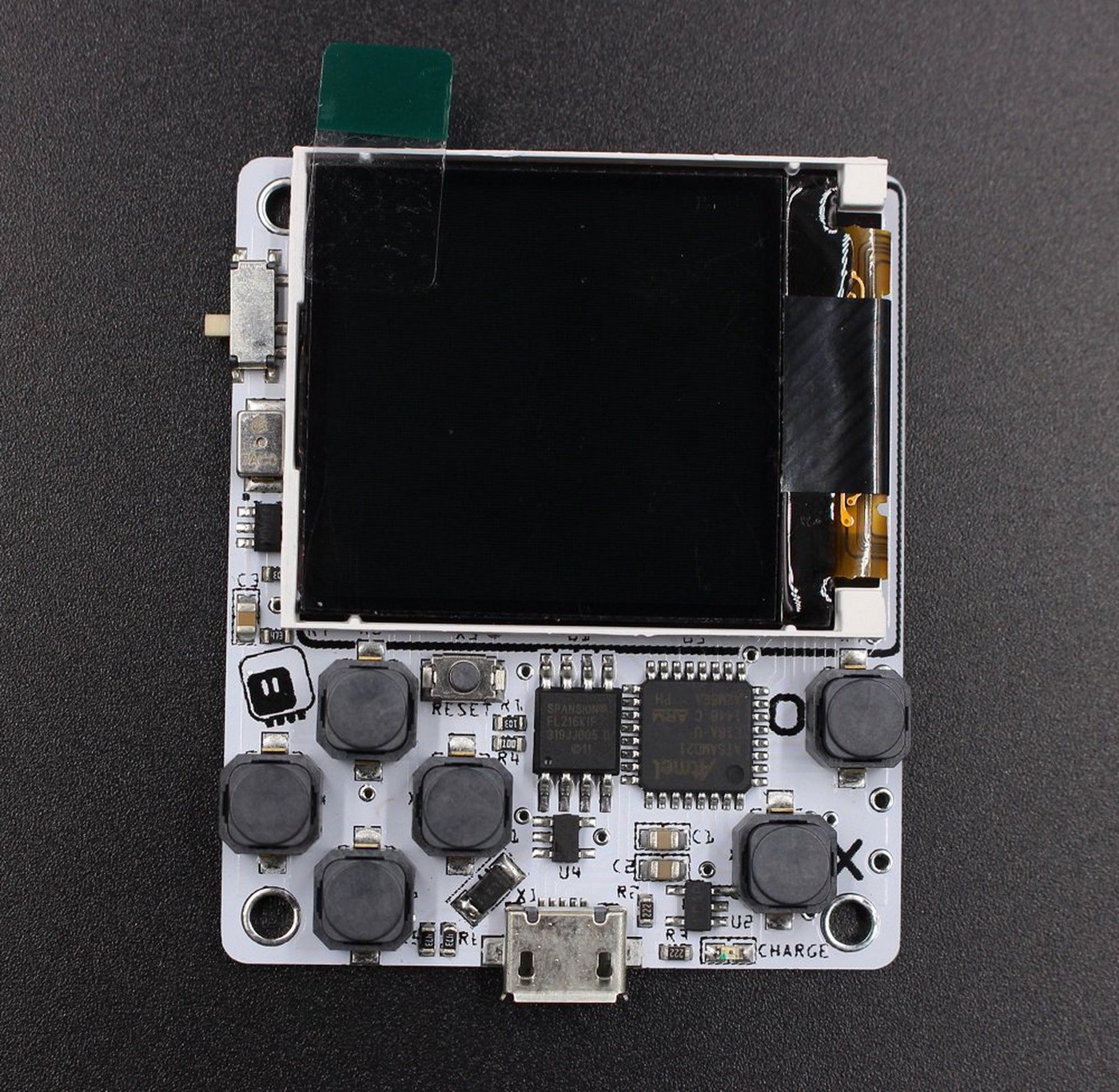 µGame 10 Is a Tiny, Python-Programmable Game Console