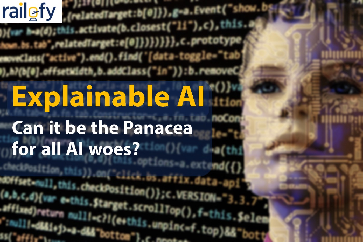 Explainable AI: The Panacea for all AI woes?