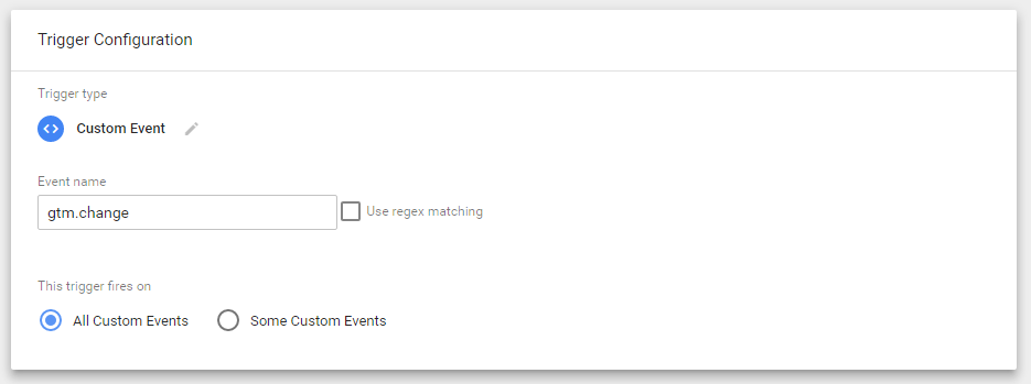Custom Event Trigger Set Up in Google Tag Manager (GTM) v2