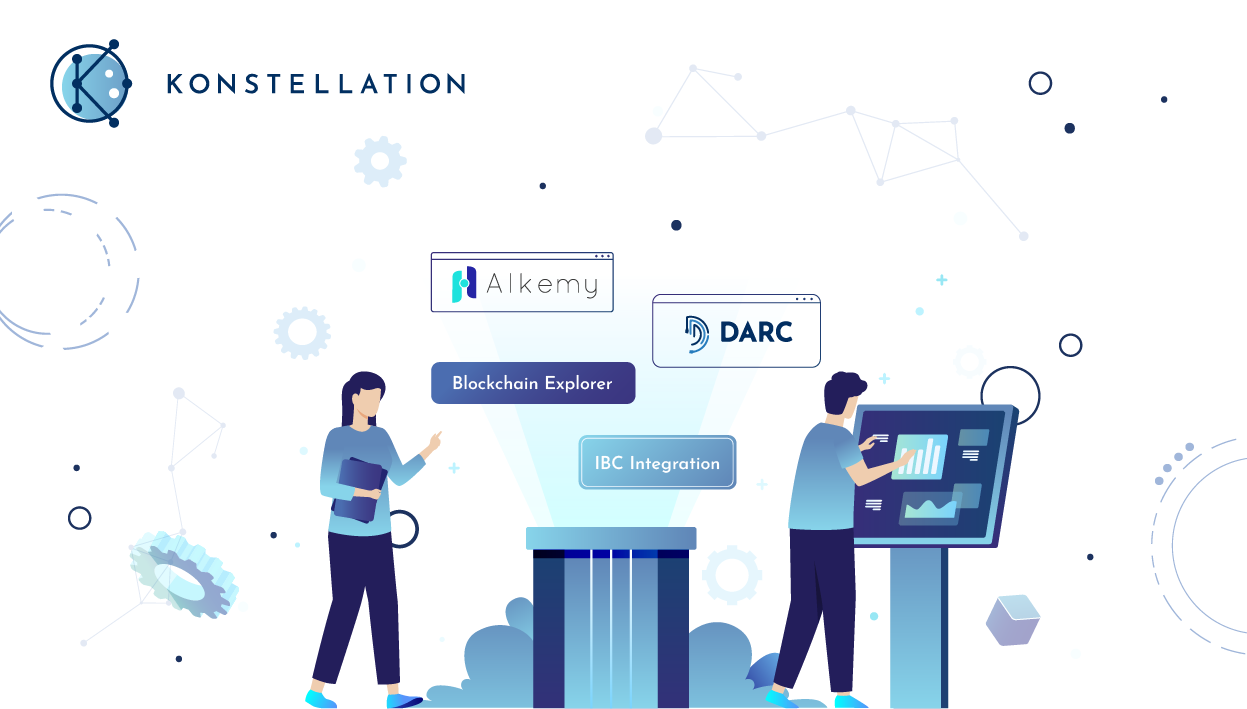 Images of Alkemy and DARC to represent Konstellation Q3 and Q4 product roadmap.