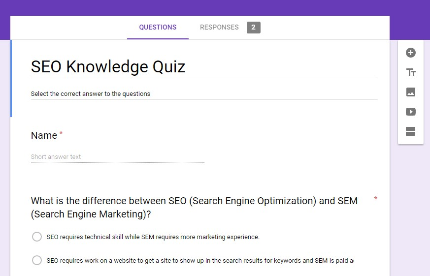 Create a Self-Grading Quiz Using Google Forms - NewCo Shift - Medium