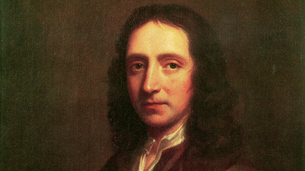Portrait of Edmond Halley