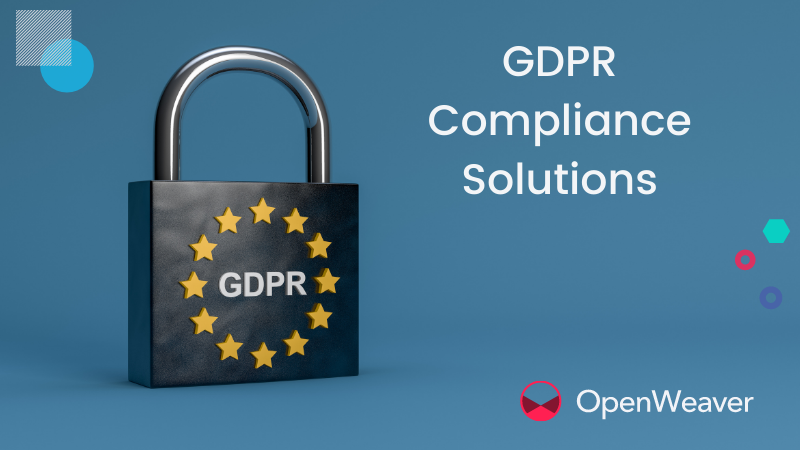 GDPR Compliance—Libraries and Solutions