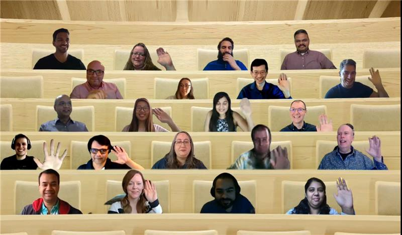 Our Hack team virtual group photo:)