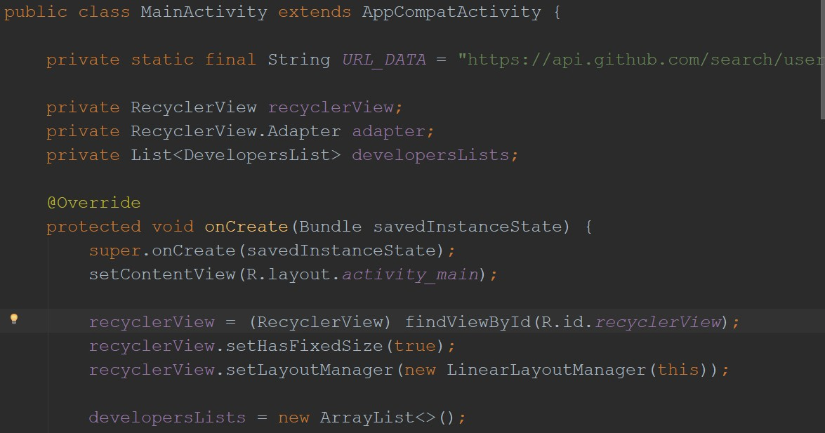 Parsing remote JSON to RecyclerView | Android - Peter Ekene Eze - Medium