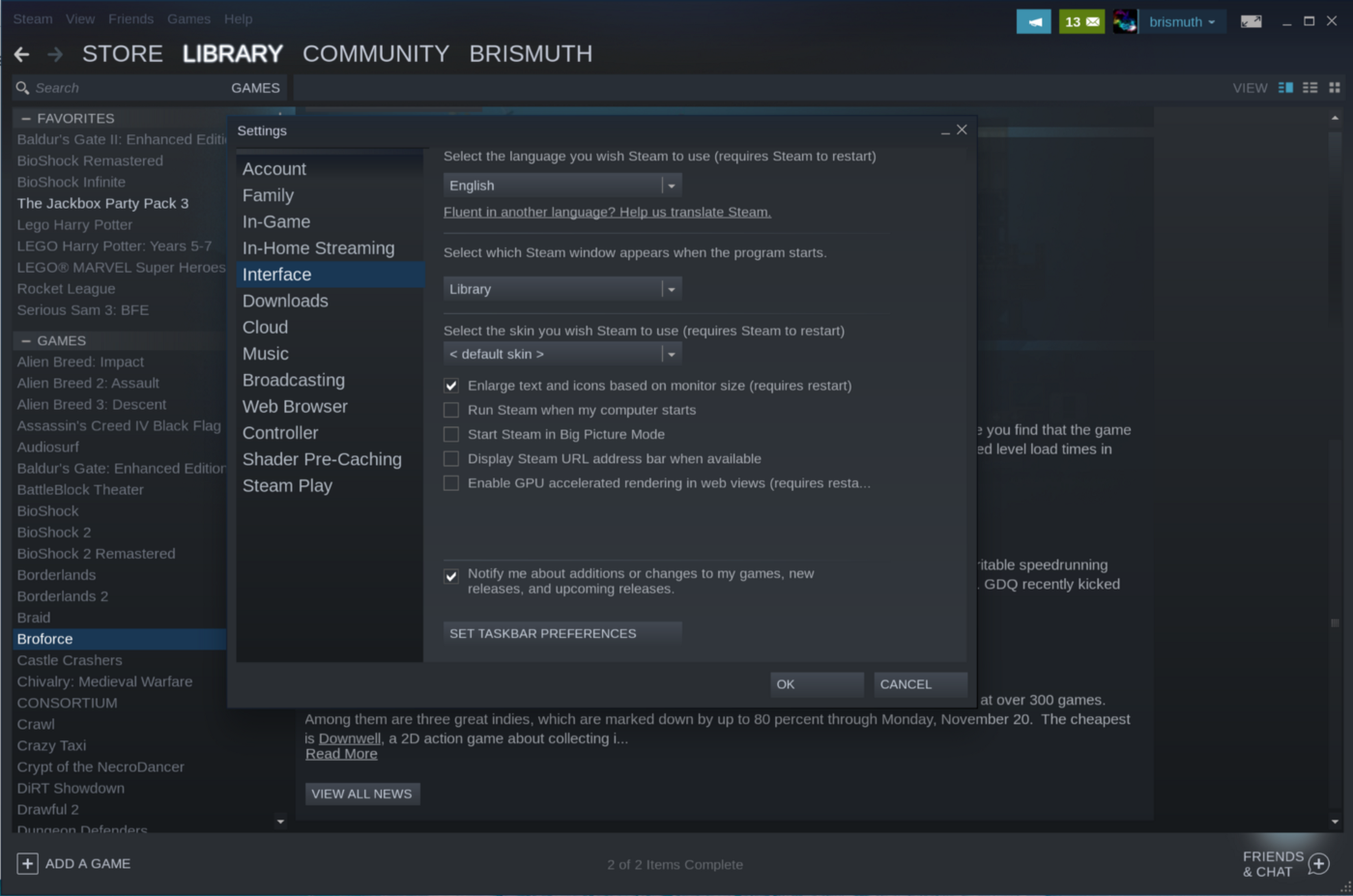 How to install Steam on a Chromebook - brismuth's blog