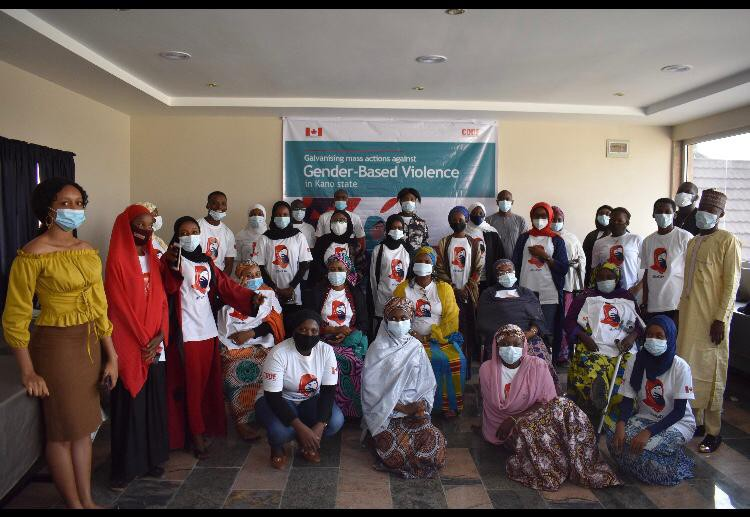 Group Picture of the 30 Gender Advocates after the 2-day Workshop in Kano State