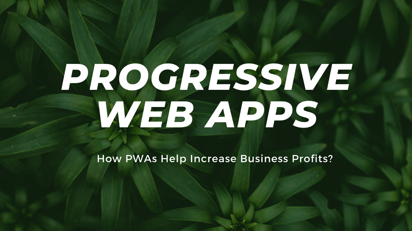 Progressive Web Apps — Increase Business Profits