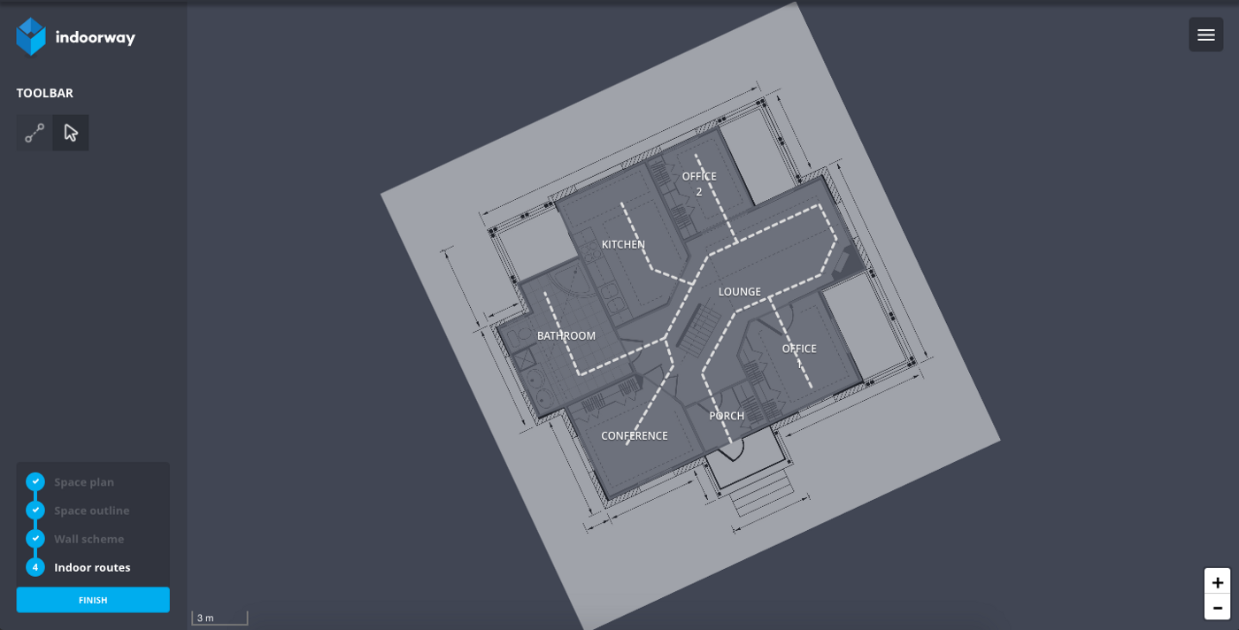Rotating geometries in PostGIS - Indoorway Blog