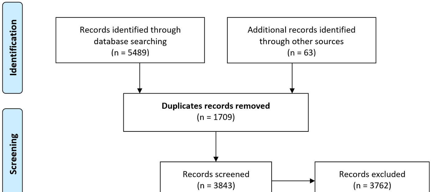 Duplicates in Systematic Reviews