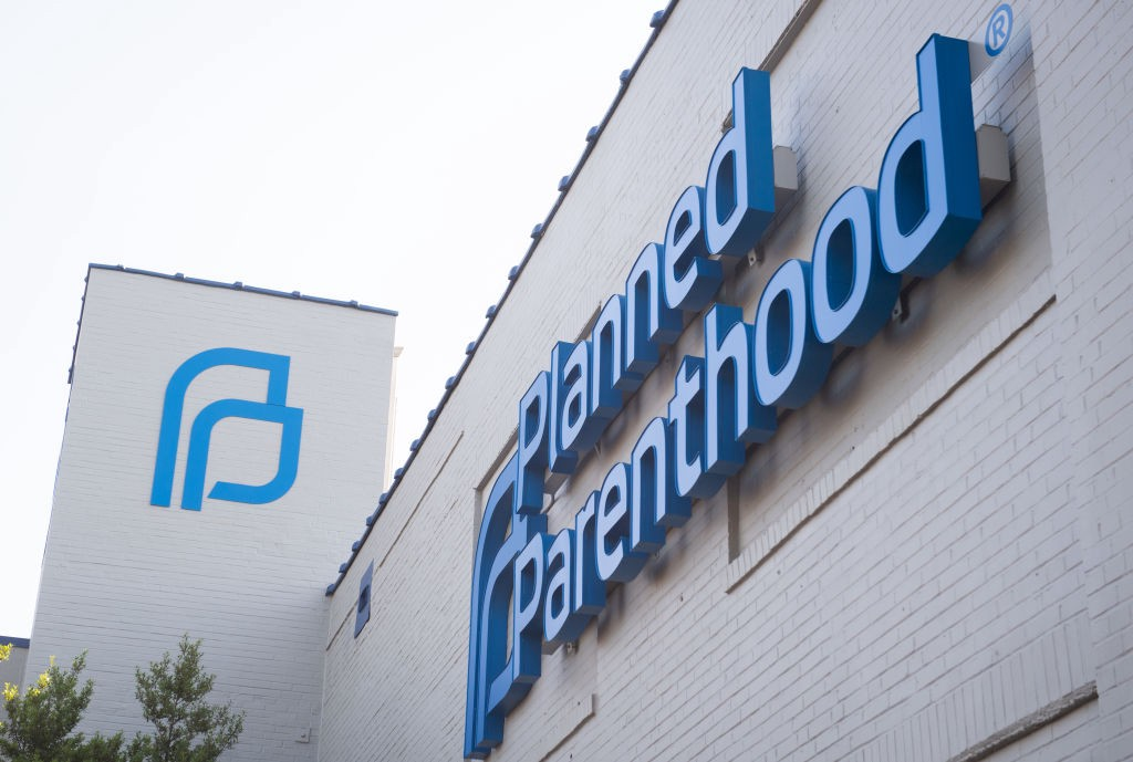 A photo of the outside of a Planned Parenthood clinic building.