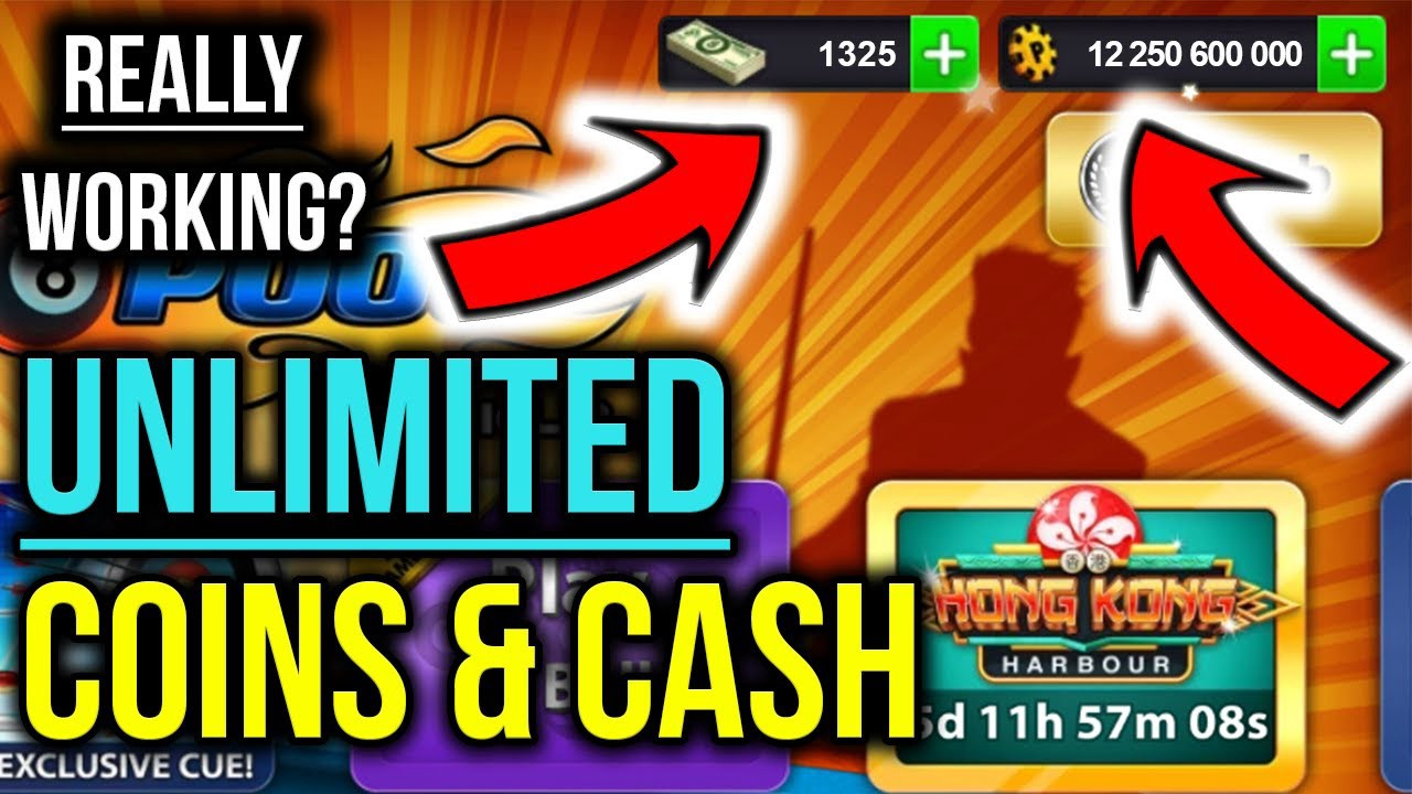 8 Ball Pool Hack Cheats 2018 — Unlimited 8 Ball Pool Cash & Coins