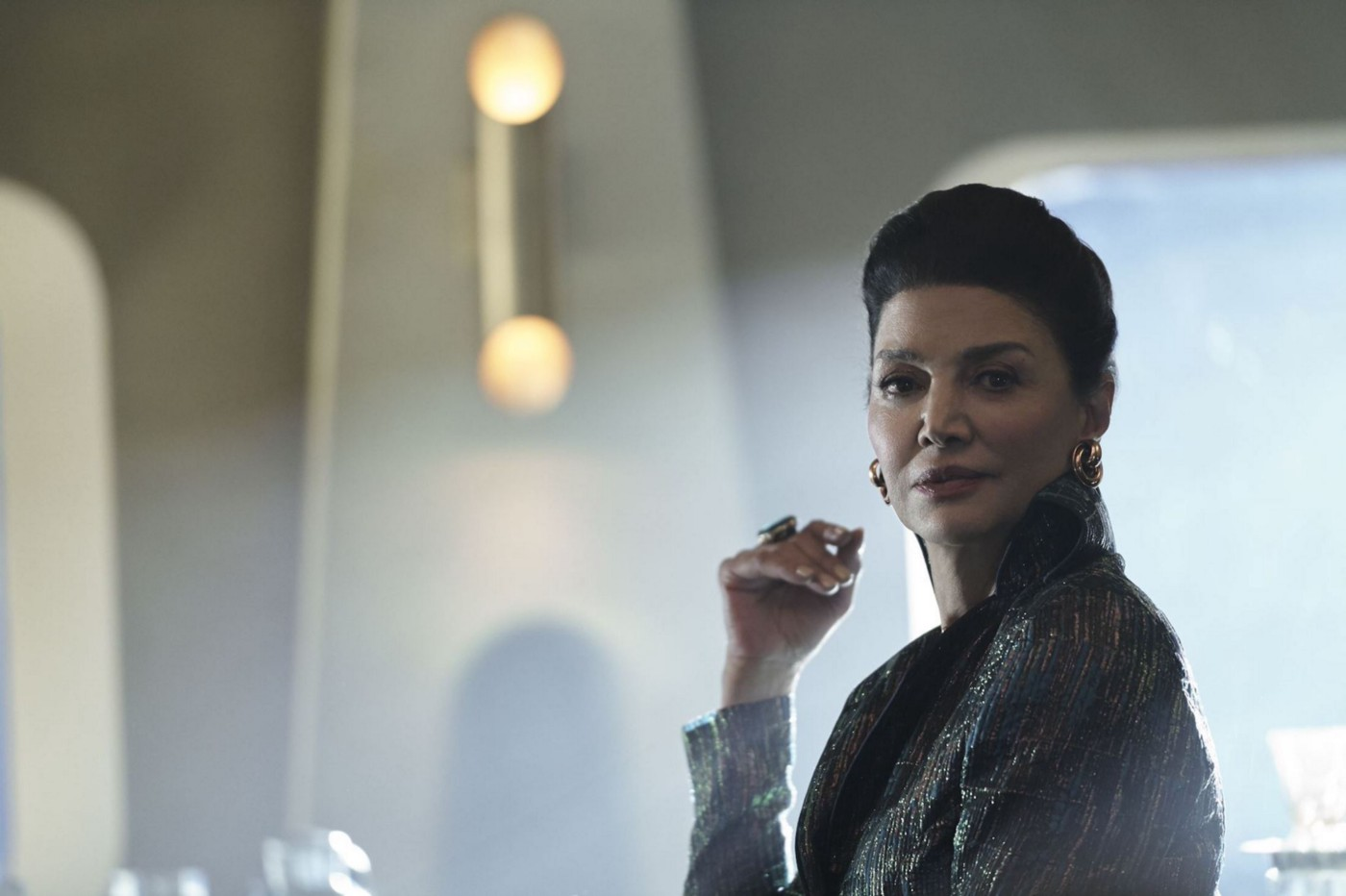 One of the stars of 'The Expanse,' Shohreh Aghdashloo.