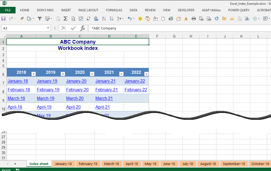 Microsoft Excel — How Do I Quickly Create a Workbook with Multiple Tabs?