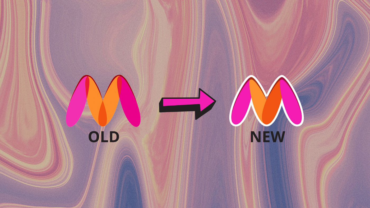 Myntra logo change controversy reason