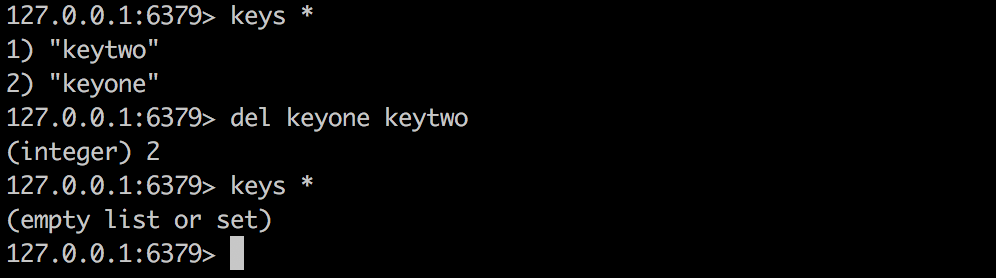 Find and Delete multiple keys matching by a pattern in Redis: The