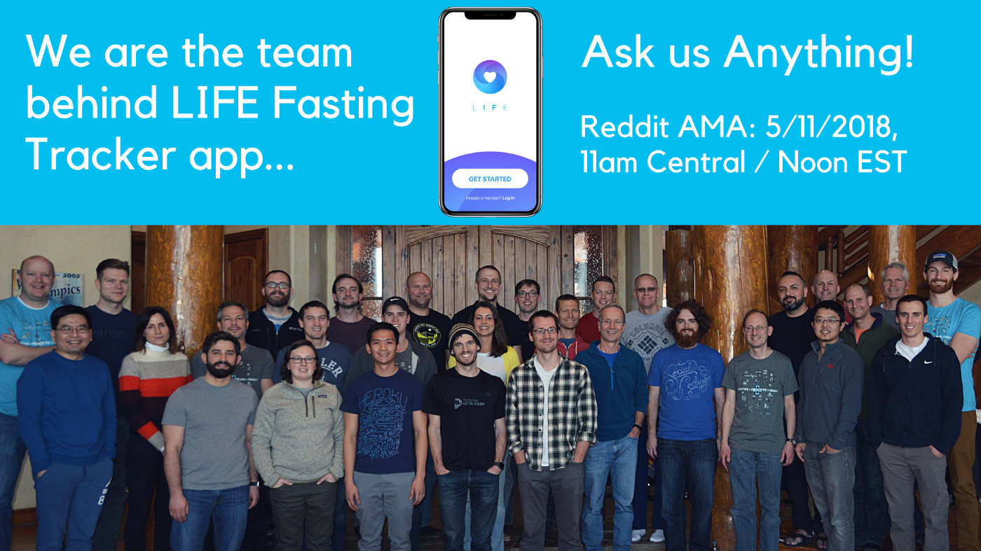 IAmA Social iOS App for Intermittent Fasting and Precision Health!