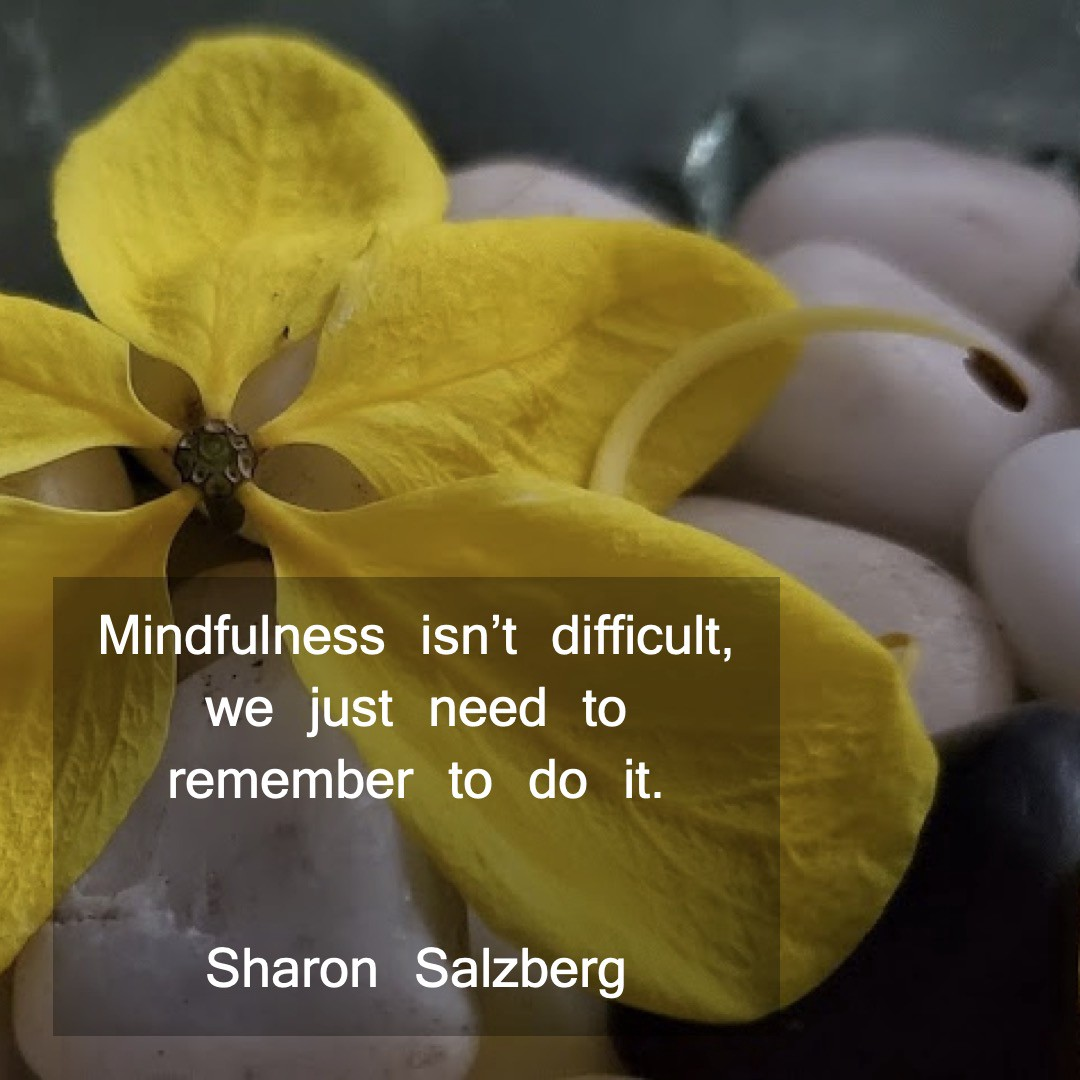 Mindfulness — Remember