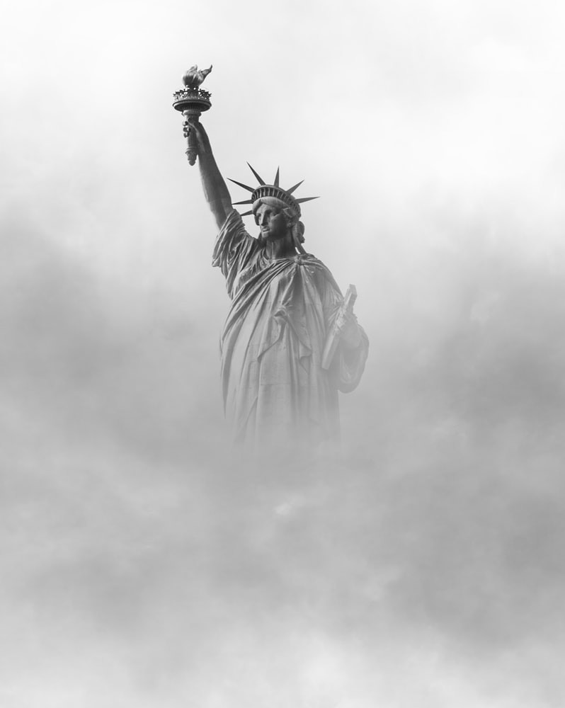 Lady Liberty Obscured