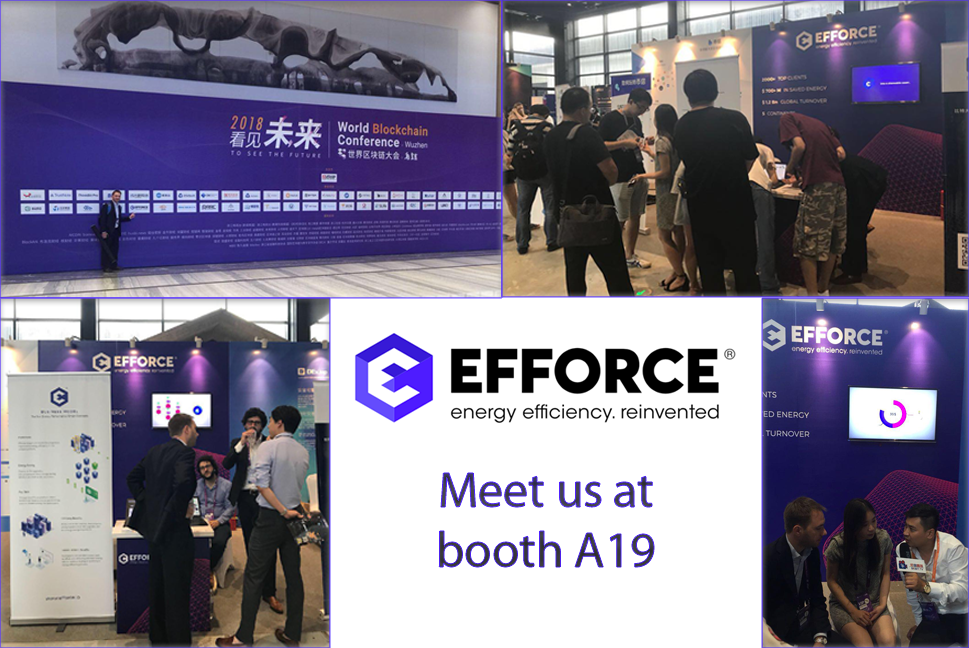 EFFORCE DEBUTS IN CHINA WITH THE WORLD BLOCKCHAIN CONFERENCE IN WUZHEN