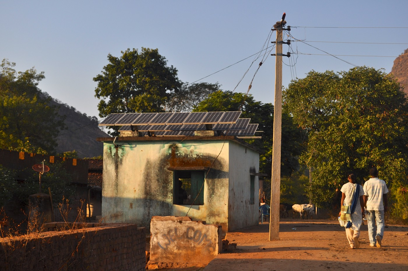 The low cost of solar PV modules makes them ideal for remote power on micro-grids and as distributed, flexible resources to supplement central distribution grids