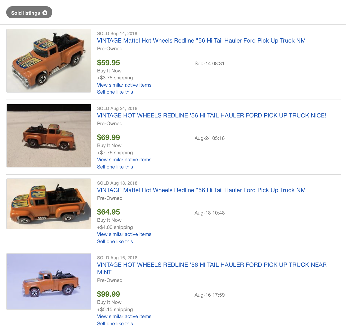 Garage Sale Flipping: How I turned $75 in Pins and Hot Wheels into