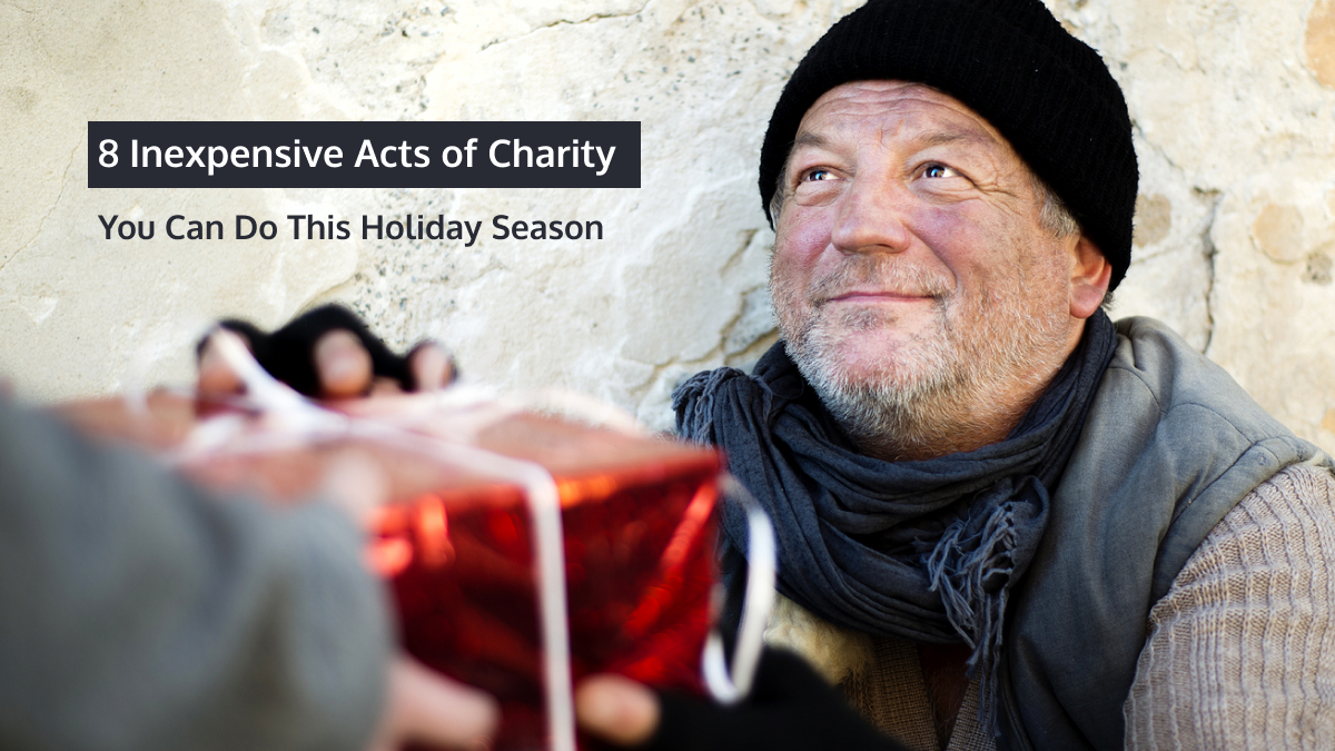 8 Inexpensive Acts of Charity You Can Do This Holiday Season