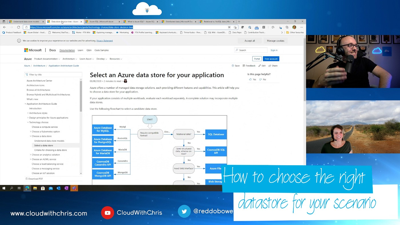 42—How to choose the 'Right' Datastores for your scenario