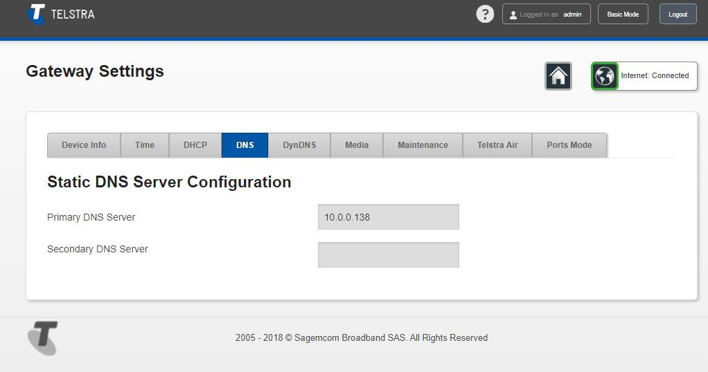 Sorry Telstra but this is my F@ST 5355 router - ThaFresh - Medium