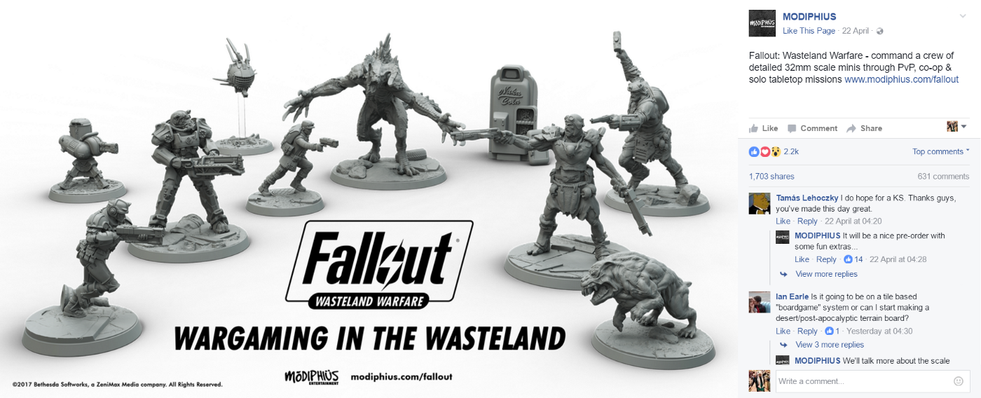 Fallout Is Getting Immortalised In Tabletop Format - Cube
