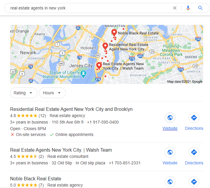 how to generate real estate leads with local seo