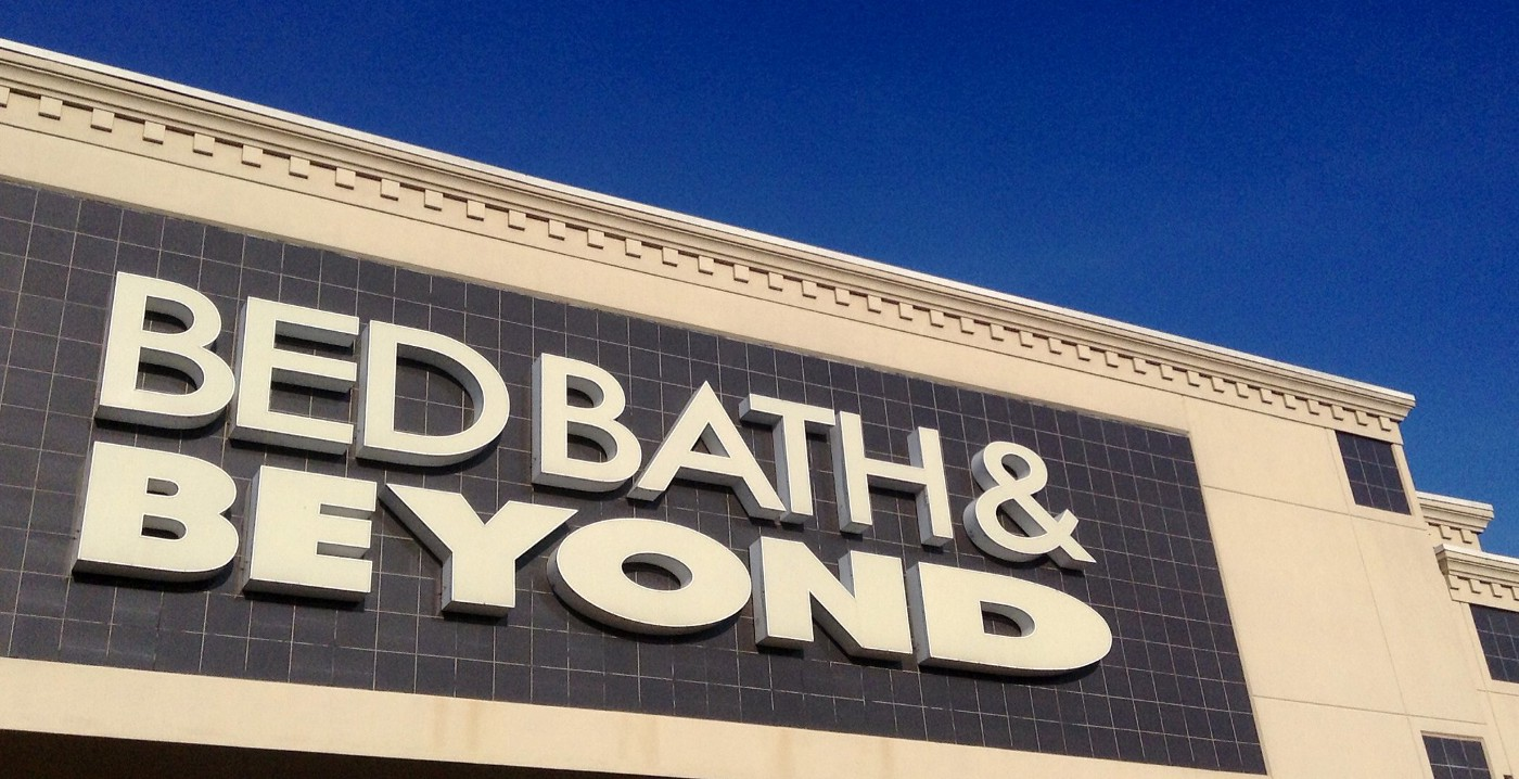 Bed Bath & Beyond's store front