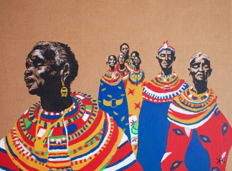 Umoja Women. Art by Katie Healy.