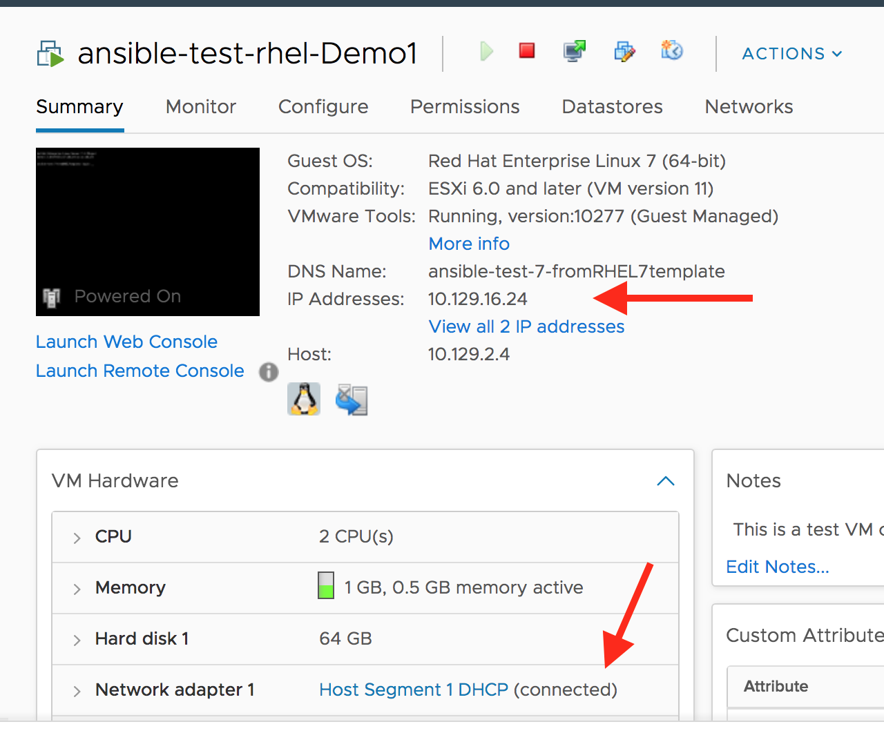 Ansible Vmware Power On Vm