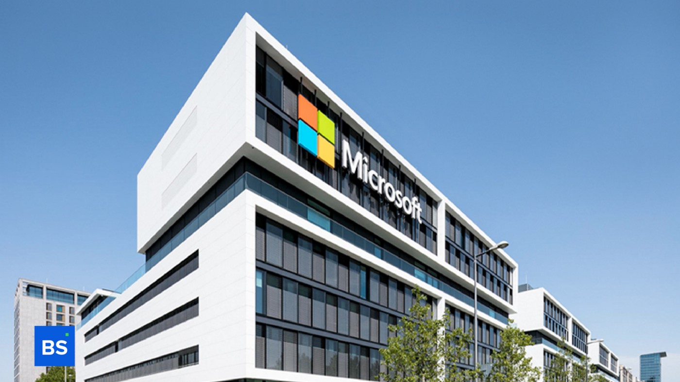 A photo of Microsoft's office