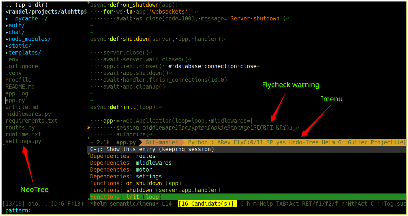 Emacs configuration for working with Python - SteelKiwi Inc  - Medium