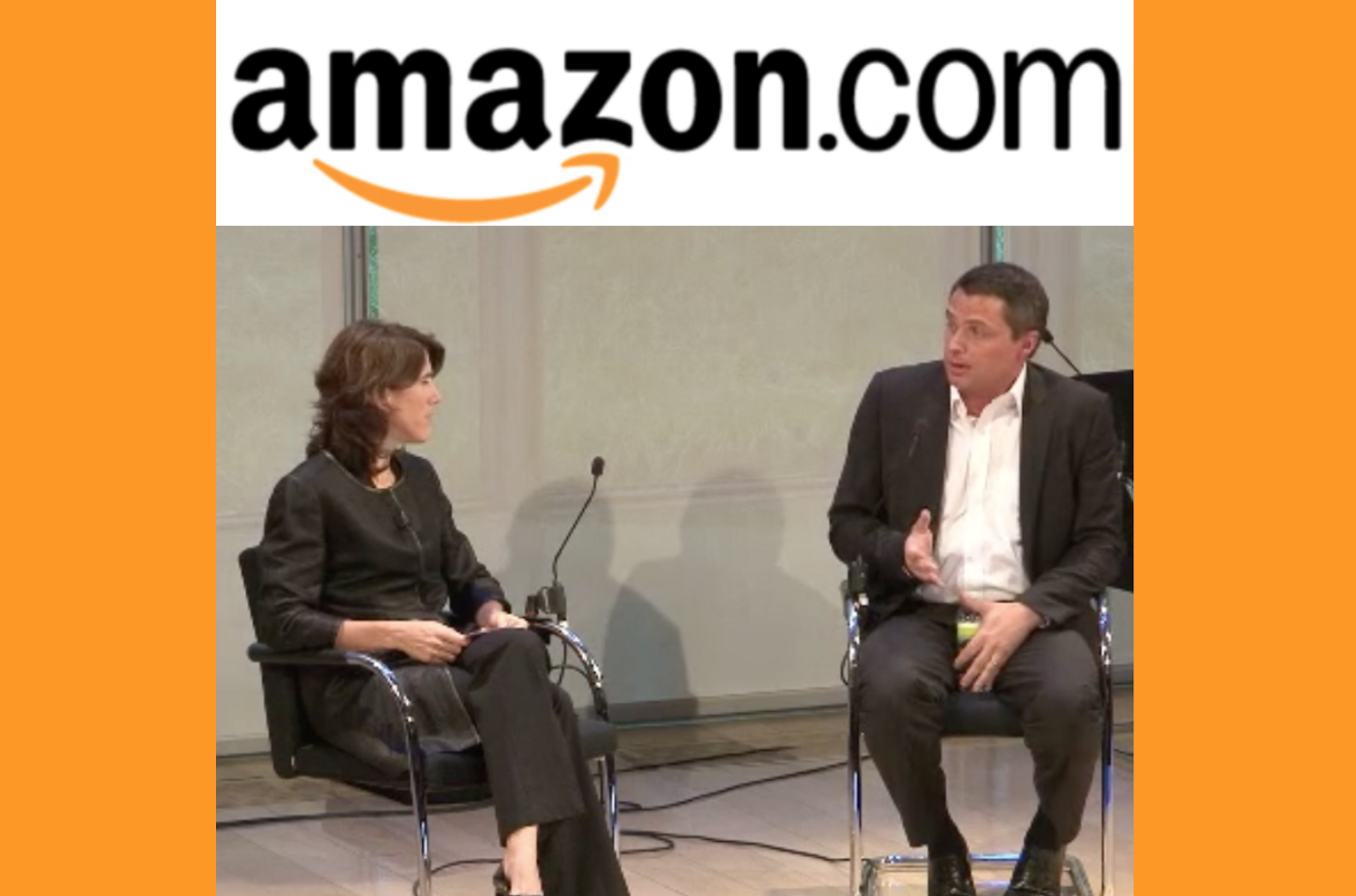 Jacopo D'Alessandris and Lisa Utzschneider at Amazon Advertising Week