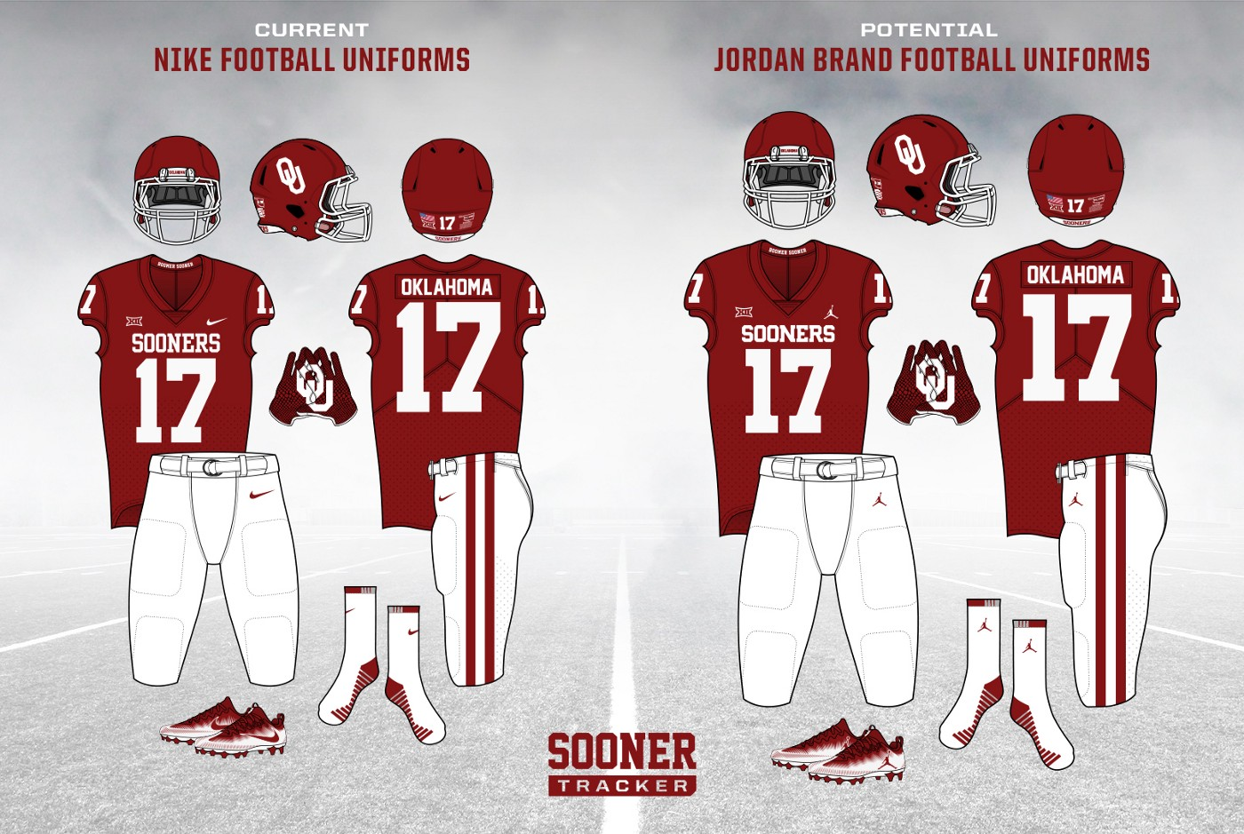 the latest ad1a6 ab4a6 Side-by-side comparison of the current uniforms with a Jordan Brand mockup