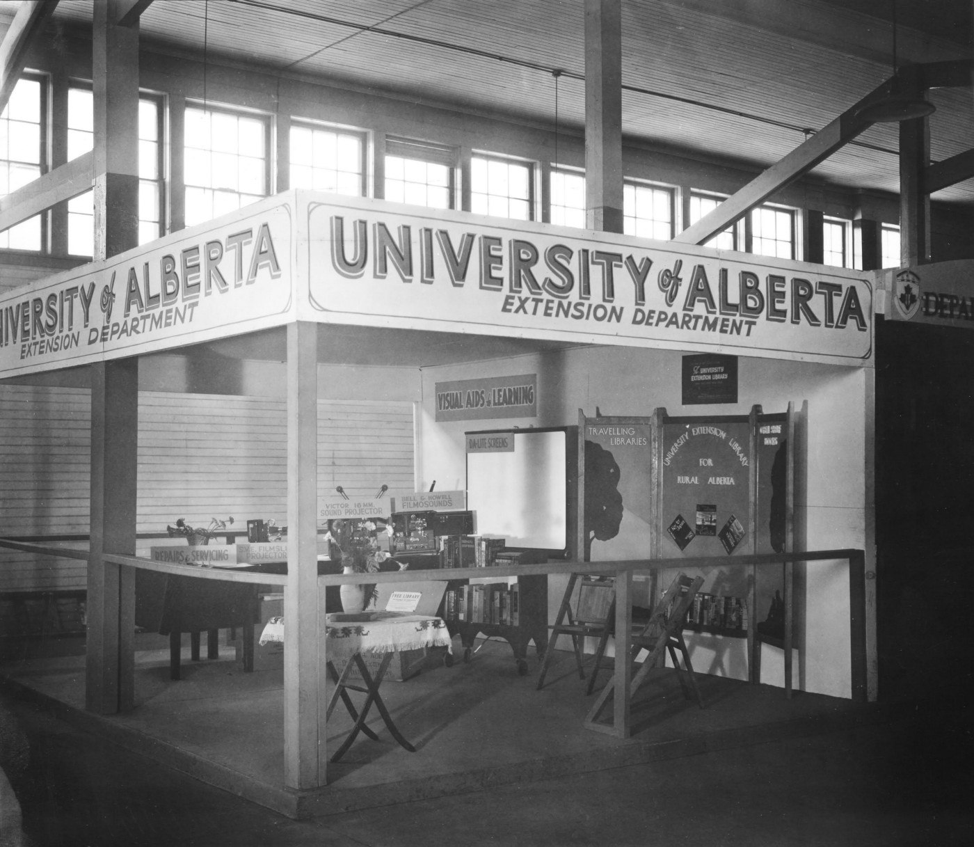 A historical look at the then, Department of Extension.