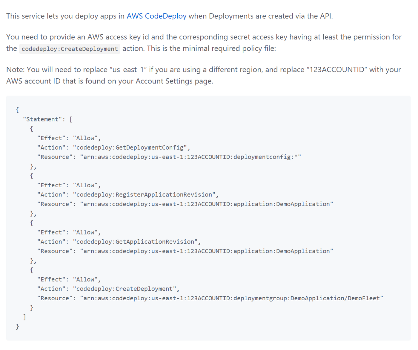 Automatically Deploy applications from Github using AWS Code Deploy