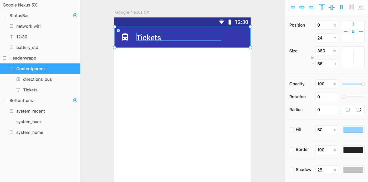 Designing for Android with Framer Studio - Prototypr