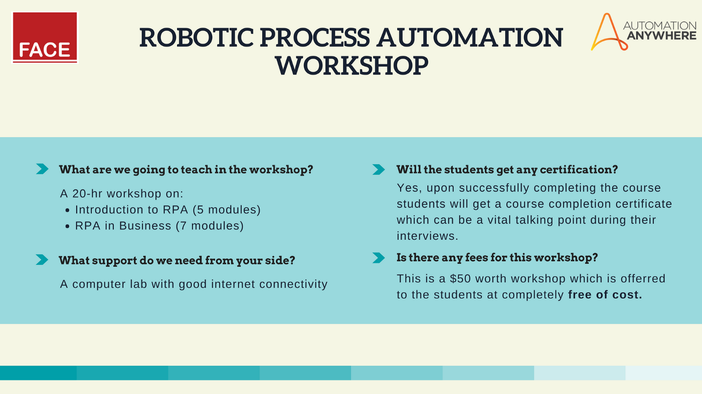 How can you train your students on Robotic Process Automation (RPA)?
