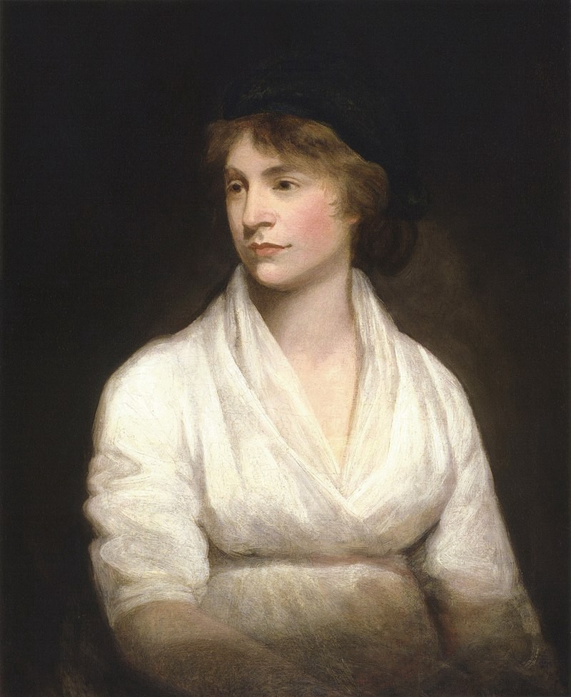 Painting of Mary Wollstonecraft by John Opie 1797