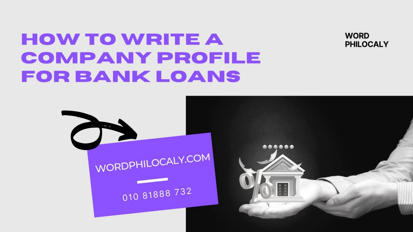 This article guides you how to write a company profile for bank loans in Malaysia. A company profile for bank loans is also a business plan or a financial plan