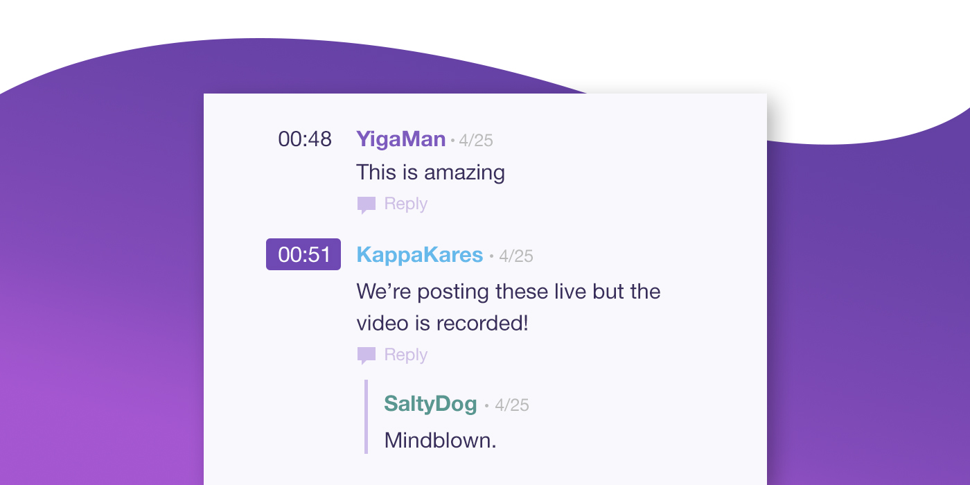 "Chat on Videos"" feature expanding to all videos - Twitch Blog"