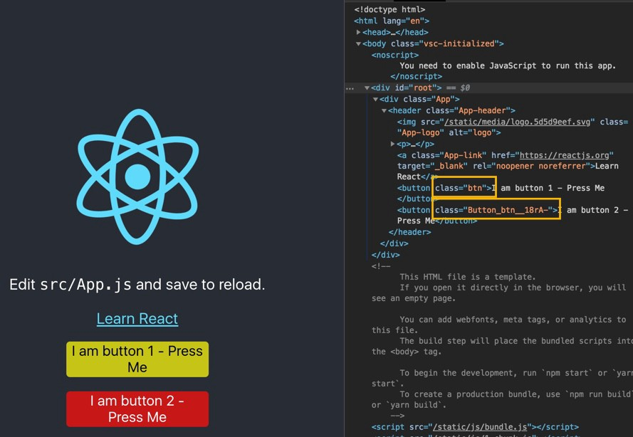 How to use Sass and CSS Modules with create-react-app