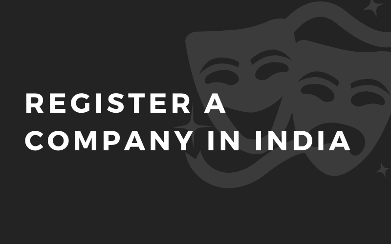 Register a company in india