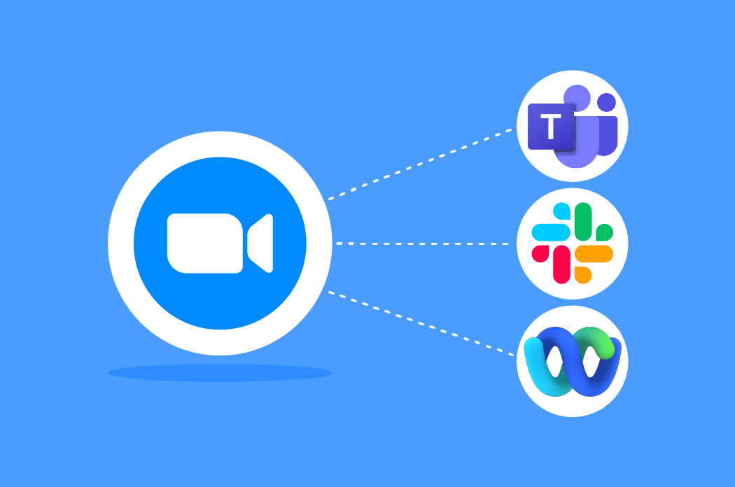 Zoom Chat interoperability with Microsoft Teams, Slack, and Webex